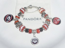 Georgia Bull Dogs, who let the dogs out??  Authentic Jared Pandora bracelet - $129.00