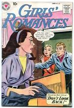 GIRLS' ROMANCES #67 1960- DC Silver Age Romance VG - $35.31