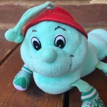 "Lotsa Lotsa Leggggggs Caterpillar Plush Toy 1998 Commonwealth 10"" Green ... - $21.99"