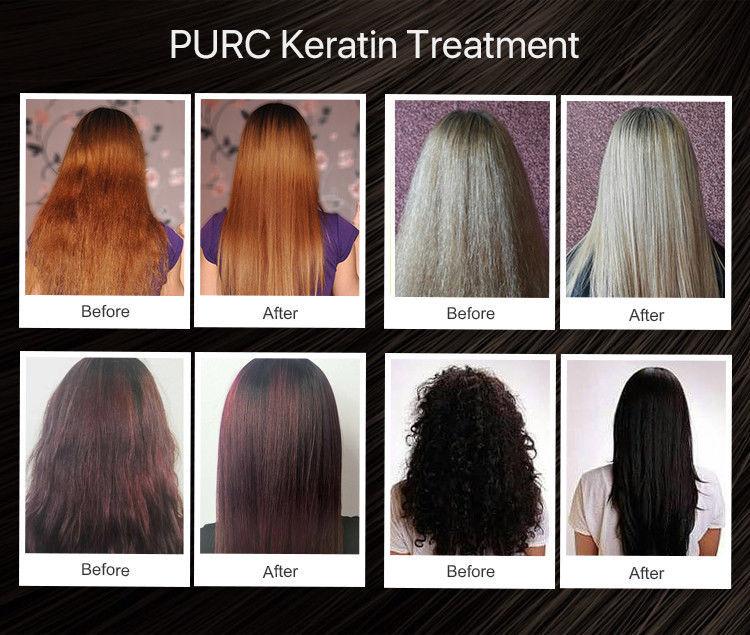 Brazilian Keratin 12% Formaldehyde Hair Straightening Treatment Repair 1000ml image 2