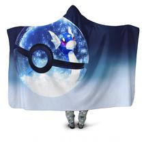 Pokeball Pokemon Hooded Hoodie Wearable Blankets - £27.61 GBP+