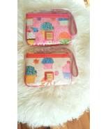 NWT Dooney & Bourke Cupcakes Wristlet Coin Card Case Wallet Choose Pink ... - $98.99