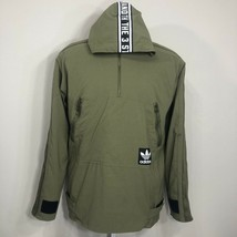 Adidas Originals Windbreaker Jacket Trefoil Logo Pullover Equipment Medium - $34.99
