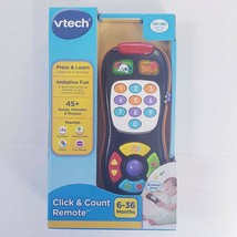 VTech Click and Count Remote Control Toy - Baby Kids Play Sing Learn Col... - $17.63