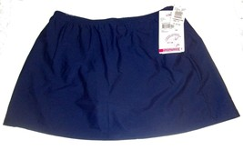"Christina Navy Blue Skirted Swimsuit Bottoms ""Caribbean Cool"" NWT$34 Siz... - $28.49"