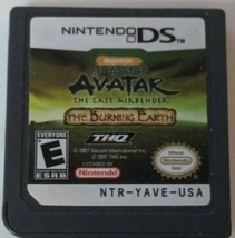Avatar: The Last Airbender The Burning Earth (Nintendo DS, 2007) Tested ... - $24.75
