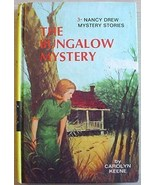 Nancy Drew BUNGALOW MYSTERY Carolyn Keene picture cover - $5.00
