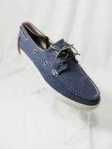 TIMBERLAND Newport Bay Men's Oxford Boat Shoes Sz 8.5 Blue Washed Canvas... - $39.00