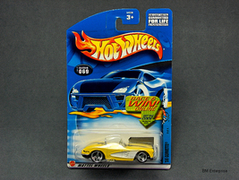 Hot Wheels 1958 Corvette #2002-069 - $4.95