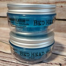 2x Bed Head Tigi Manipulator Hair Styling Texture Paste for Firm Hold  2 oz - $13.85