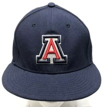 University of Arizona Nike Fitted Navy Blue Hat Dri-Fit 643 Size 7 1/8, ... - $9.79