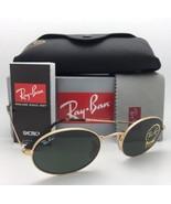 New RAY-BAN Sunglasses RB 3547-N 001 51-21 145 Gold Frames G-15 Green Gl... - $199.95