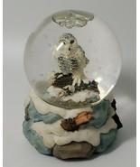 Vintage Miniature Glitter Snow Globe Snow Owl Westland #1263 - $12.13