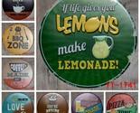 S antique retro metal tin signs bbq pizza lemonade love sweet iron painting poster thumb155 crop