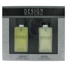 Paul Sebastian DESIGN for Men 2 Piece Pc 3.4oz Cologne +After Shave Gift... - $99.99