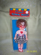 MIP Vintage Vinly Playful Mascot Rubber 1950's Doll New Old Store Stock - $39.95