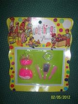 MOC Vintage Dawn Doll Size Outfit w/ Hot Pink Lingerie + Jewelry by Prem... - $24.95