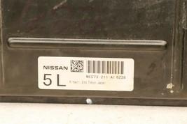 2007 Nissan Titan 4x2 ECU ECM Computer BCM Ignition Switch W/ Key MEC74-211-A1 image 2