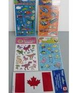 Stickers - Hot Wheels, Thomas the Tank Engine, SpongeBob, Dinosaurs, Fla... - $6.95