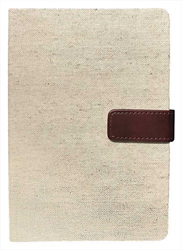 Eccolo 6 x 8 Inches Style Journal (Natural Linen)