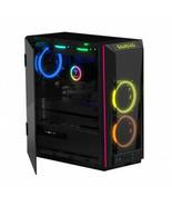 GAMDIAS Case GD-TALOS M1 RGB Mid Tower Micro-ATX ATX RGB Fan Black Retail - $213.88