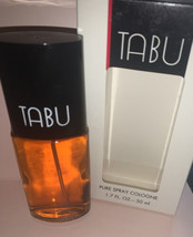 Vintage DANA TABU 1.7  Pure Spray Cologne .New In Box - $44.88