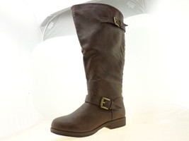 Journee Collection Spokane Womens Knee-High Boots Brown Size 8 - $44.34