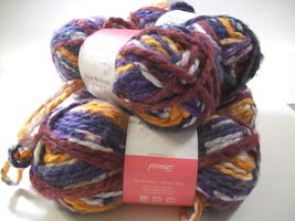 Premier Yarns, Isaac Mizrahi Craft Yarn, Acrylic Blend, Color Irving Var... - $19.79