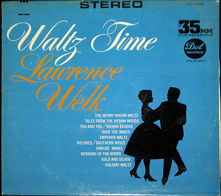 Lawrence welk  waltz time  cover