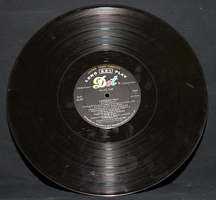 "Lawrence Welk  ""Waltz Time""   LP"