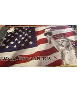 Commemorative  9  11  2001 Throw Blanket - $28.66