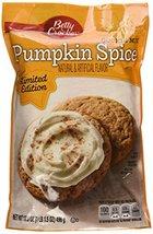 Betty Crocker, Pumpkin Spice Cookie Mix, 17.5oz Pouch (Pack of 4) - $14.64