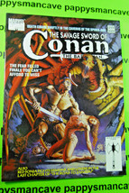 1993~SAVAGE Sword Of Conan ~#210~ Marvel Comics Magazine - £11.09 GBP