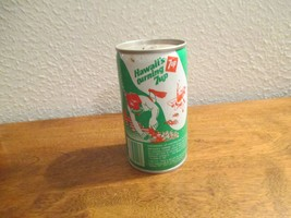 Hawaii HI Turning 7up vintage pop soda metal can Swimming Snorkling - $10.99