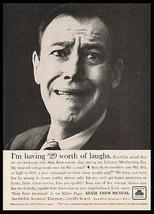 State Farm Mutual Insurance 1957 AD I'm Having $29 Worth of Laughs - $10.99