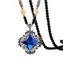Sweater Chain Long Fashion Retro Clothes Pendant Necklace Jewelry