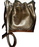 COACH F35363 BABY MICKIE DRAWSTRING SHOULDER BAG IN GRAIN LEATHER - $217.79