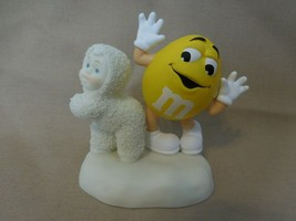 "Snowbabies Dept 56  ""I'm Nuts About Dancing"" Figurine  2004 Release  Yel... - $14.88"