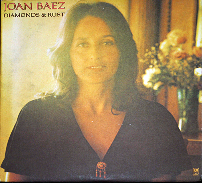 Joan baez  diamonds rust  cover