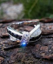 Black & White Unicorn Duo Merlin Avalon Spells Healing Wish Magick Haunted Ring - $55.99