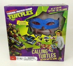 Teenage Mutant Ninja Turtles Calling All Turtles Board Game Battle Seale... - $14.21
