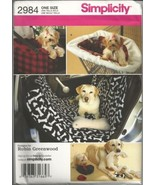 Simplicity 2984 Dog Travel Accessories Pattern - $12.99