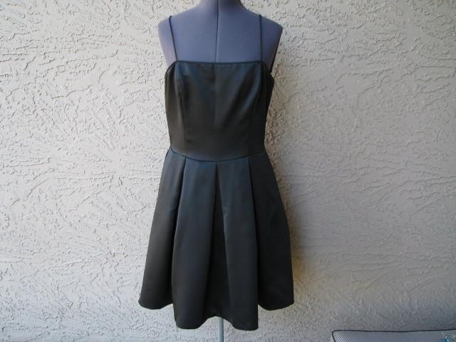 Donna Ricco Dress 10 Deep Black Bust 33 Perfect Conditi