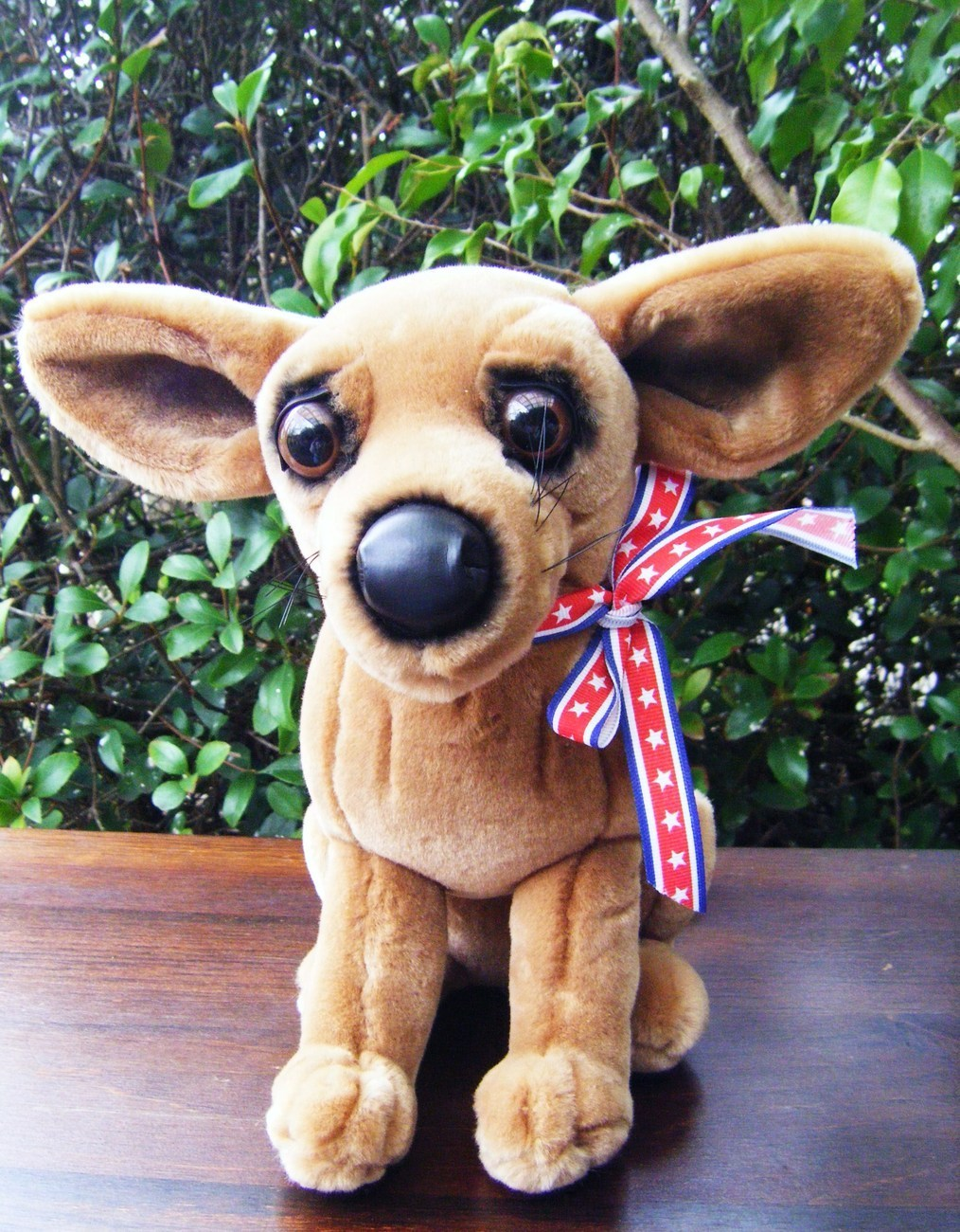 high chihuahua a a plush 10 quot high chihuahua pre owned euc other 3354