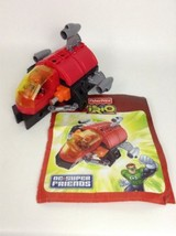 Fisher Price Trio DC Super Friends Building Toy Red Green Lantern (Compl... - $24.70