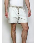 New Authentic $640 Mens D&G Dolce & Gabbana White Cotton Bermuda Shorts S/32 48 - $239.00