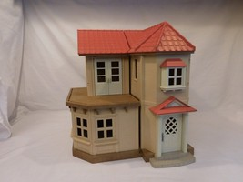 Calico Critters Sylvanian Families Beechwood Hall Town House with working Lights - $43.02