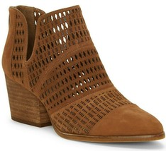 Vince Camuto Niranda Suede Perforated Booties, Multi Sizes Brown Moss VC... - £96.31 GBP