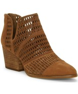 Vince Camuto Niranda Suede Perforated Booties, Multi Sizes Brown Moss VC... - £95.85 GBP
