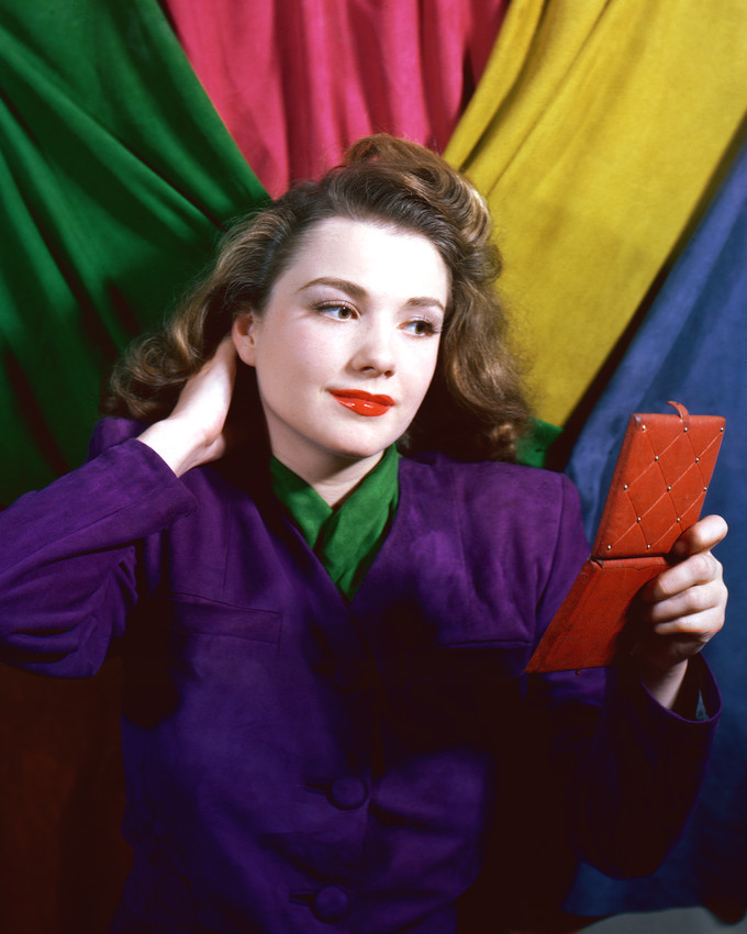Primary image for Anne Baxter Colorful Print 16X20 Canvas Giclee